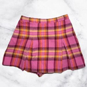 Cute plaid print skirt size 3t